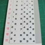 昔の計算具「ネピアの骨」で計算しよう(その2)~紙を使った「ネピアの骨」の作り方